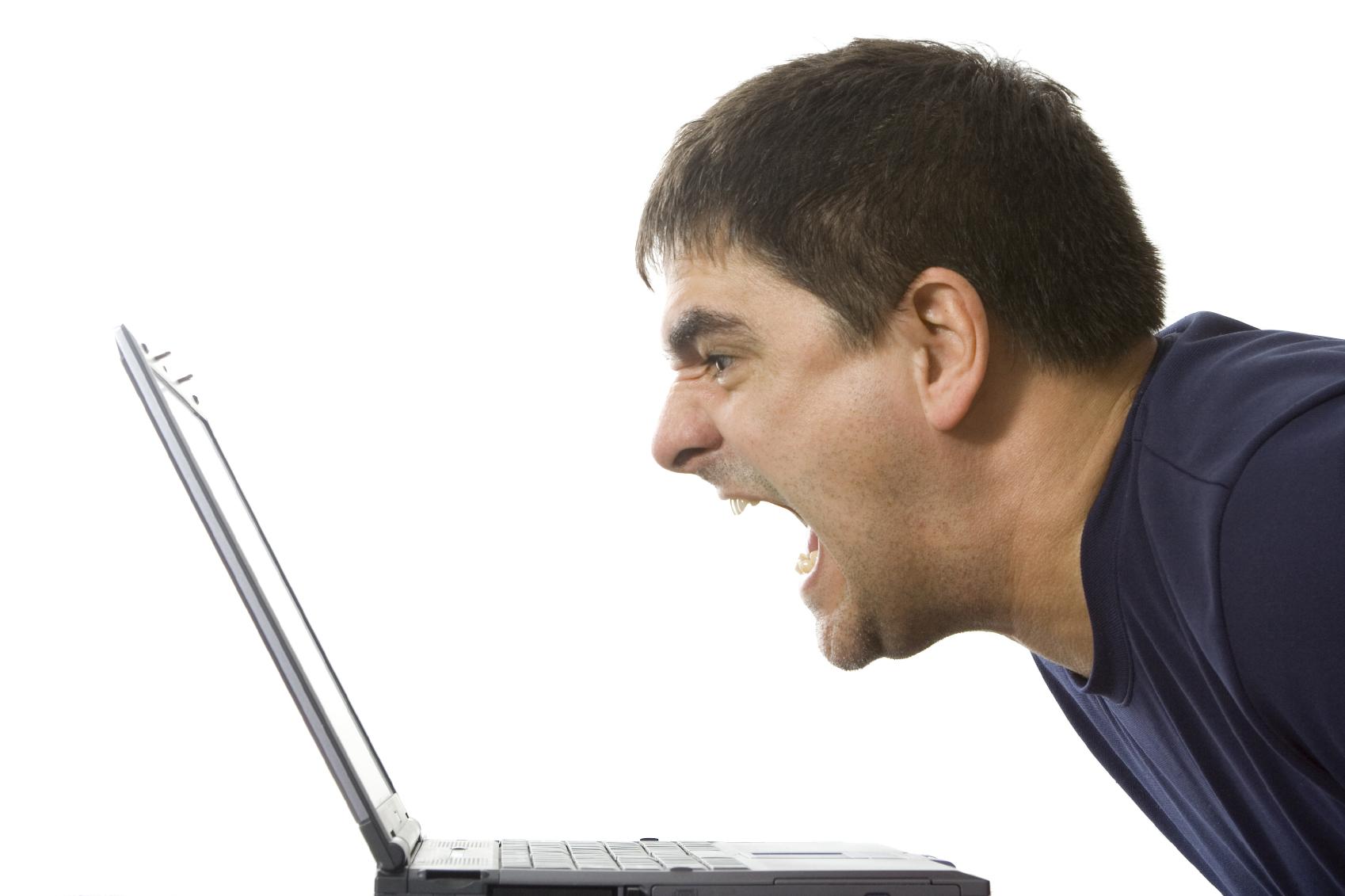 yellingatcomputer
